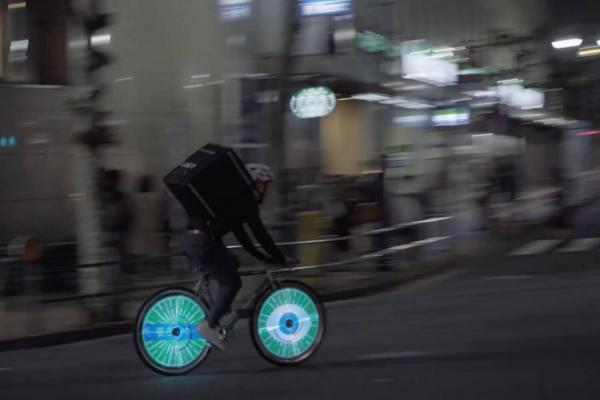 Smart Spokes - Eyes Japan and Uber Eats