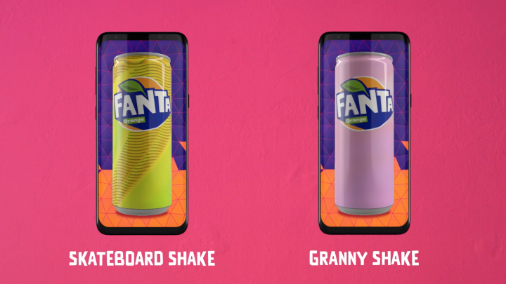 Shake to Design - Fanta | Ogilvy