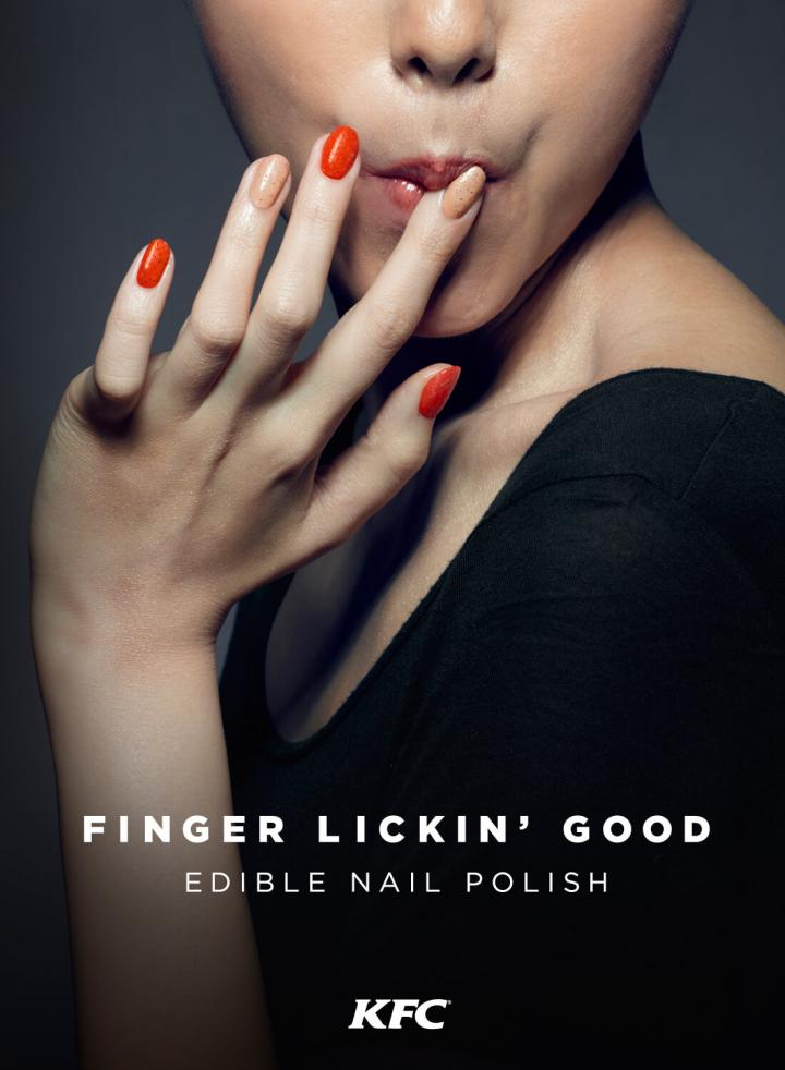 Finger Lickin' Good Nail Polish - KFC
