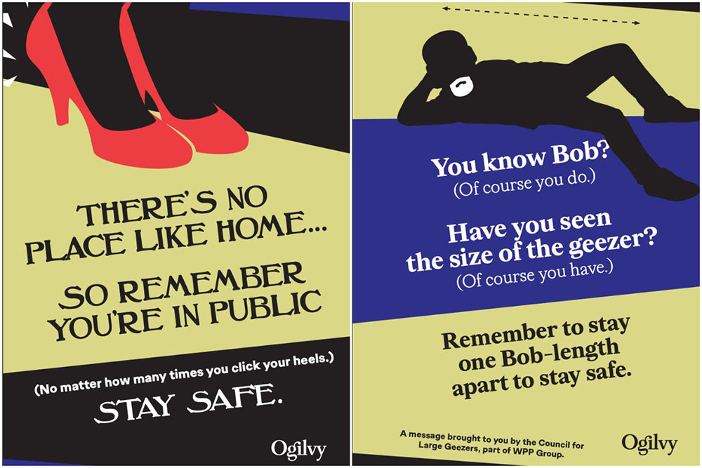 Ogilvy office posters